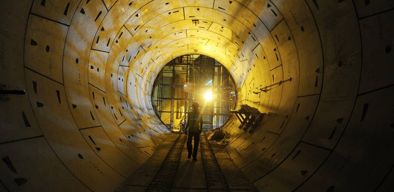 Underground Tunnel - photo:  AFP, used under Creative Commons License (By 2.0)