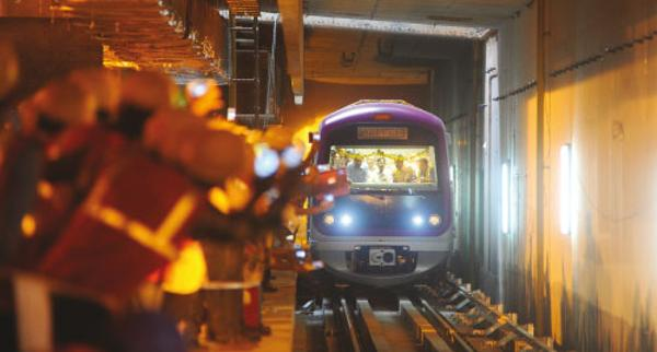 Bangalore Metro - photo: Bangalore Mirror, used under Creative Commons License (By 2.0)