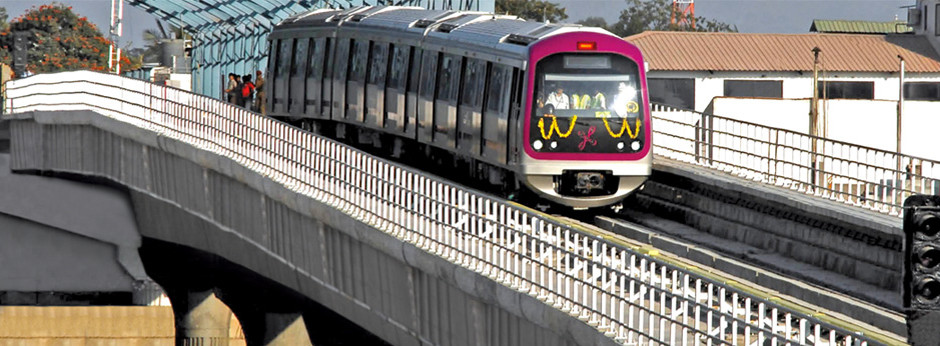 Bangalore Metro - photo: Ultratech, used under Creative Commons License (By 2.0)