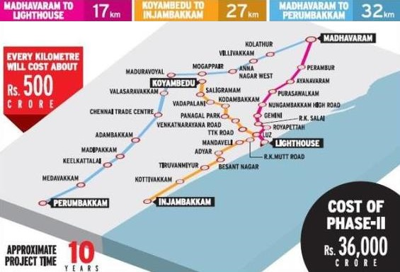 Phase II Lines - photo: The Hindu, used under Creative Commons License (By 2.0)