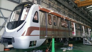 Brown Line Train in Korea - photo: DMRC Hub, used under Creative Commons License (By 2.0)
