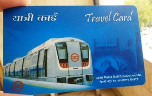Delhi Metro Smart Card - photo: India Today Hindu, used under Creative Commons License (By 2.0)