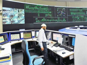 Control room at Shastri Park OCC - photo: Economic Times, used under Creative Commons License (By 2.0)