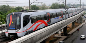 Airport Express Line - photo: Delhi Capital, used under Creative Commons License (By 2.0)