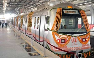 Jaipur Metro - photo: India Today, used under Creative Commons License (By 2.0)