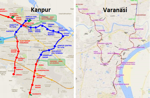 Central Govt Approves Kanpur Varanasi Metro Projects The Metro