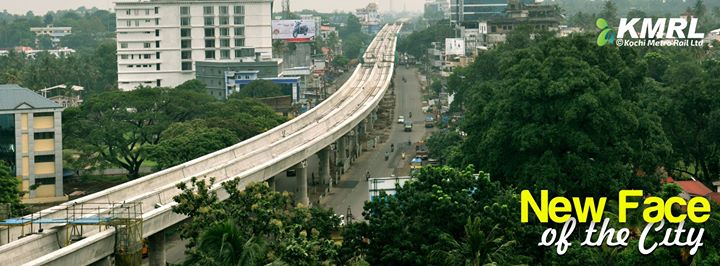 Kochi Metro - photo: Kochi Metro FB, used under Creative Commons License (By 2.0)
