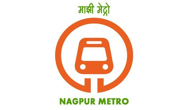 Nagpur Metro Logo - photo: Nagpur Metro FB, used under Creative Commons License (By 2.0)