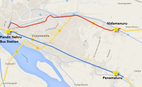 DMRC Invites Two Tenders to Build Vijayawadas Metro from PNBS to