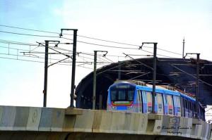 Hyderabad Metro - photo: Kranthi Kumar, used under Creative Commons License (By 2.0)
