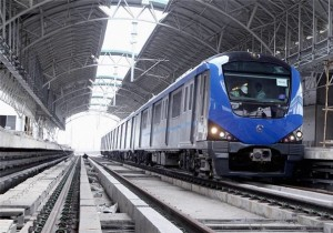 Chennai Metro - photo: Economic Times, used under Creative Commons License (By 2.0)