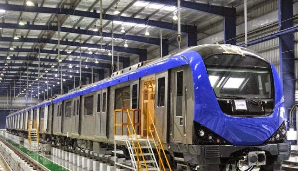 Chennai Metro - photo: The Hindu, used under Creative Commons License (By 2.0)