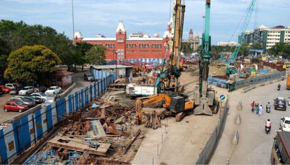 Chennai Metro - photo copyright The Hindu