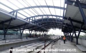 Delhi Cantonment Station - Photo Copyright: DMRC