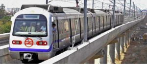 Faridabad Metro - photo: The Hindu, used under Creative Commons License (By 2.0)