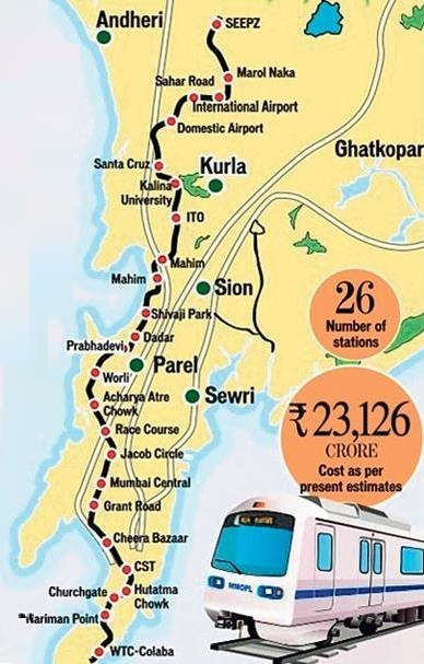 Route of Line 3