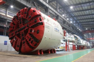 TBM used by contractor - photo: Tunnelling Journal, used under Creative Commons License (By 2.0)