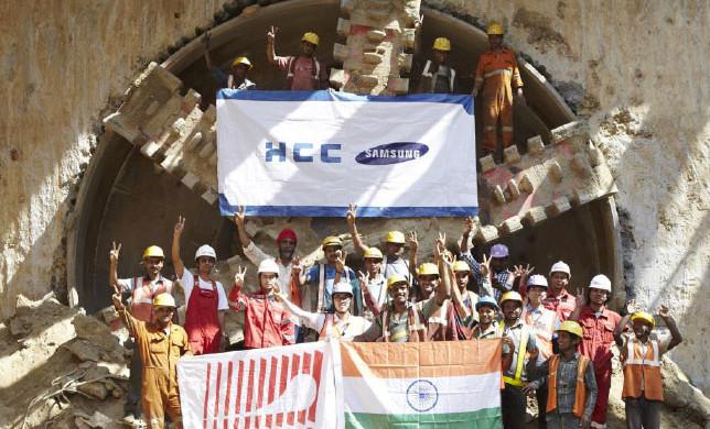 Breakthrough at Janakpuri West - Photo Copyright Tunnel Talk