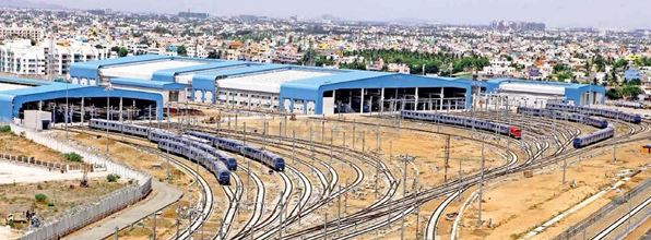 Overview of Depot - Photo Copyright Dinkaran - view larger size
