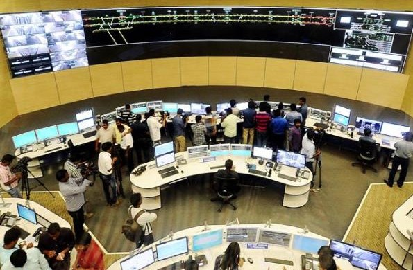 Operations Control Centre- Photo Copyright Economic Times