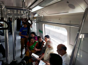 Interacting with commuters