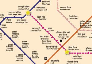 Tunneling on the Janakpuri W - Shankar Vihar is now complete!