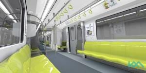 Interior view - color scheme 1