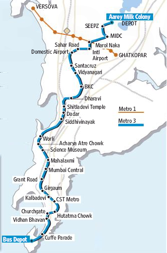 Mmrcl Awards Contracts For Mumbai Metros Line 3 The Metro Rail Guy