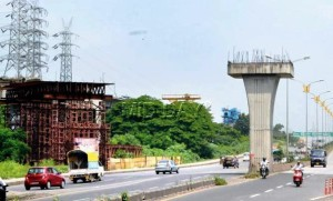 Approvals are awaited to construct over the Sion-Panvel Highway - Source: Mid-Day