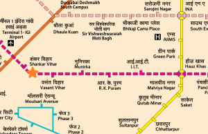 Courtesy DMRC - view full map