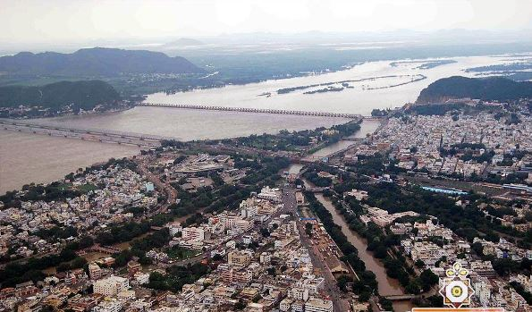 view of Vijaywada - Photo Copyright: Ilapuram