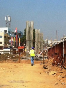 and some more piers shaping up - Photo Copyright: Rushabh Gandhi