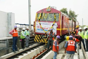 All aboard the choo! choo! train - Photo Copyright: CMRL