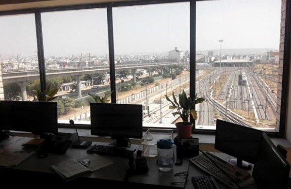 View from the OCC - Photo Copyright: Trilok Kumawat