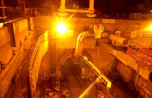 view of the Chandpol shaft - Photo Copyright: Sugato Sinharay