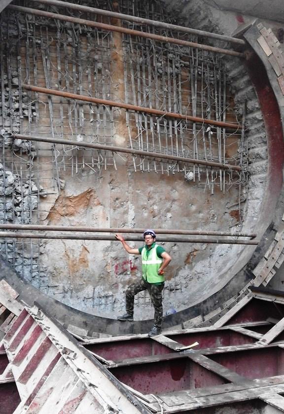 Tunnel's eye - Photo Copyright: Abhishek Anand