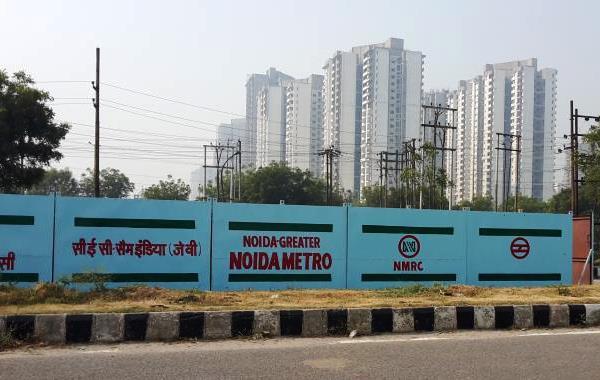 Sector 142 station - Photo Copyright: Rajesh_vsworx - IREF