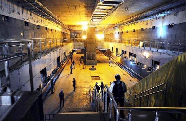 Vidhana Soudha station - Photo Copyright: The Hindu