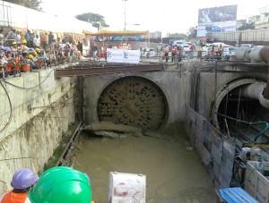 Cool view of the shaft - Photo Copyright: Nandu Kumar