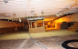 False ceiling work has commenced at the City RS station - Photo Copyright: