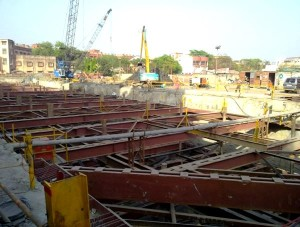 View of the Howrah Maidan station site - Photo Copyright: Kaushik Mal