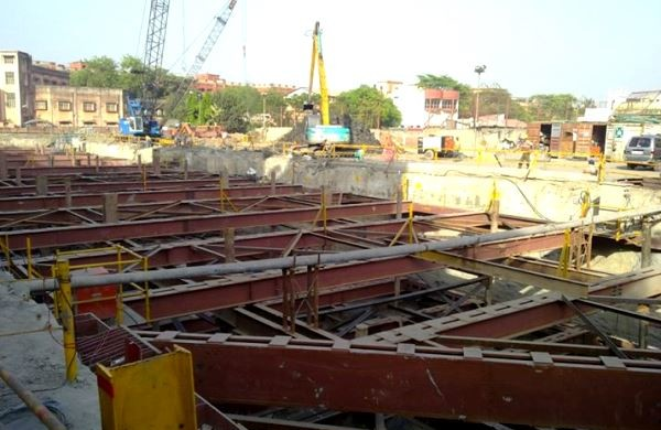 View of the Howrah Maidan station site - Photo Copyright: Kaushik Mal