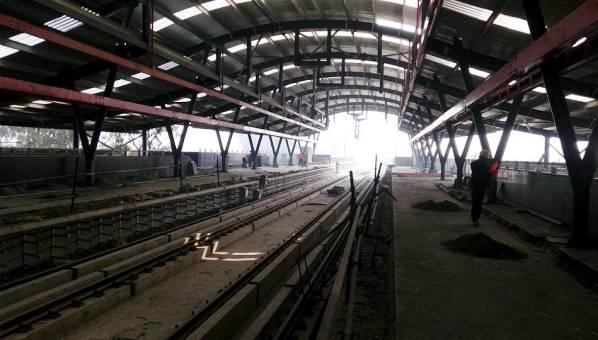Platform view - - Photo Copyright: Kaushaleshwar Chauhan