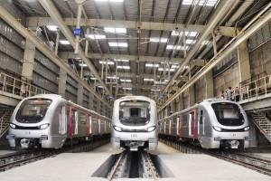 Mumbai Metro - Photo Copyright: MMOPL