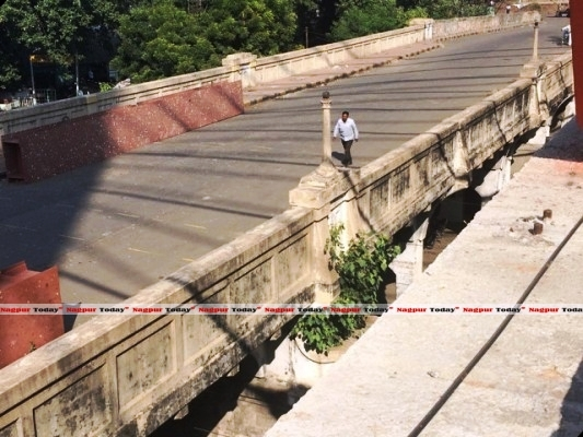 Original bridge - Photo Copyright: Nagpur Today