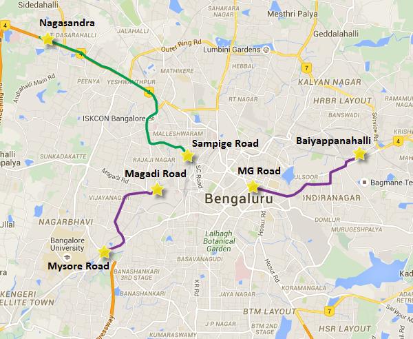 BangaloreMetroBefore