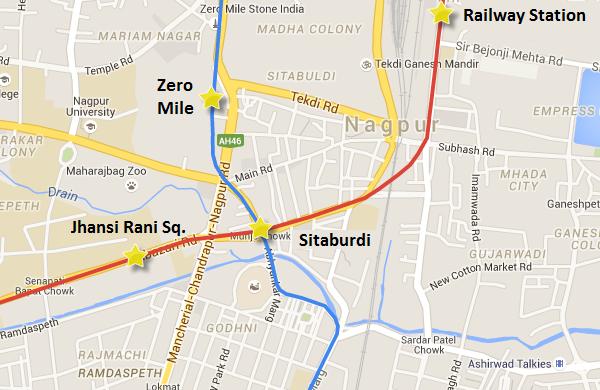 Nagpur Metro Unveils Zero Mile Sitaburdi Metro Stations Designs