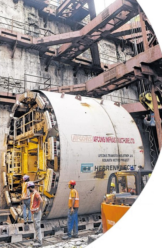 calcutta s metro scope of work The east-west corridor of the kolkata metro, now under construction, is part of   the scope of work includes the first train tunnel to be built under a river in india.