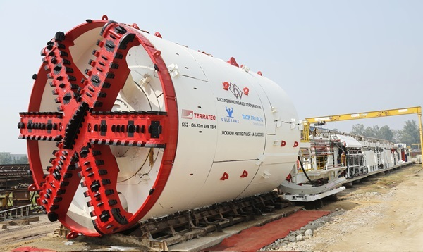Lucknow Metro's TBM S52 (view more images) - Photo Copyright: Terratec