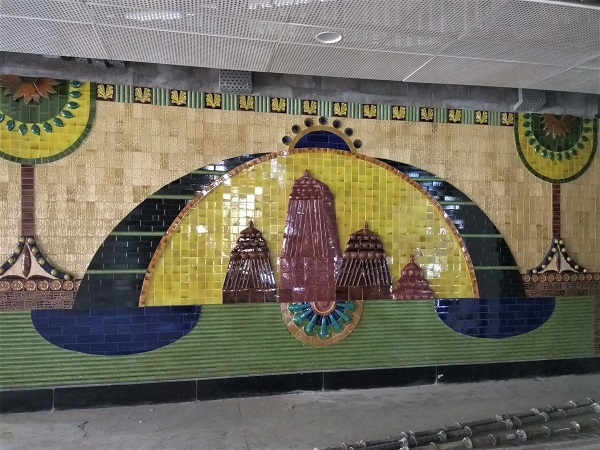 Pics Delhi Metro S Kalkaji Mandir Station July 2017